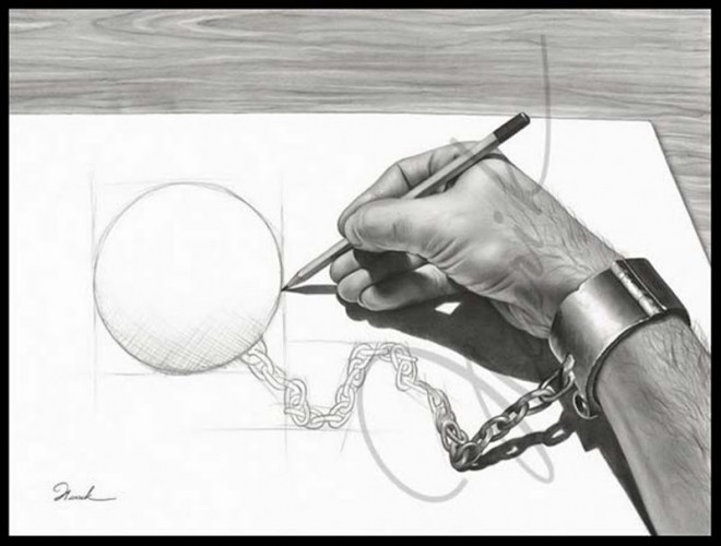 660x500 Funny Drawings 30 Most Funniest Pencil Drawings And Art Works
