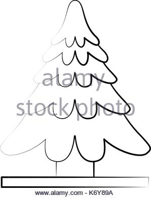 300x392 Pine Tree Sketch Icon Stock Vector Art Amp Illustration, Vector