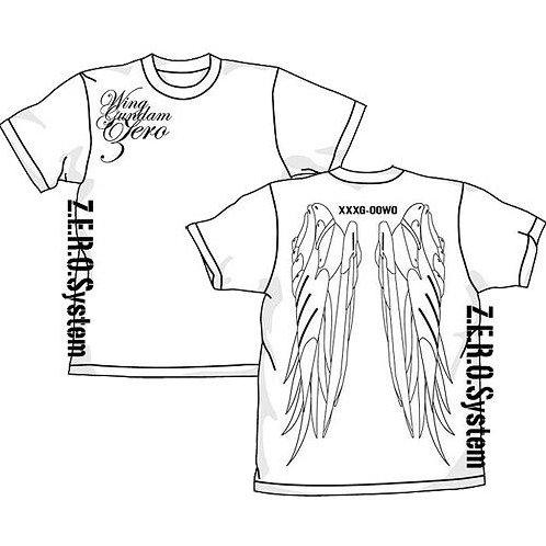 498x498 Mobile Report Gundam Wing Zero T Shirt White (Xl Size)