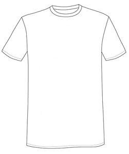 251x300 T Shirt White Basic Crew Neck T Shirt Half Sleeve Mens Ladies