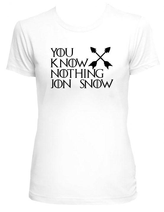 555x718 You Know Nothing Jon Snow Tee