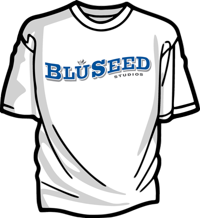 400x436 Bluseed Logo T Shirt Bluseed Studios
