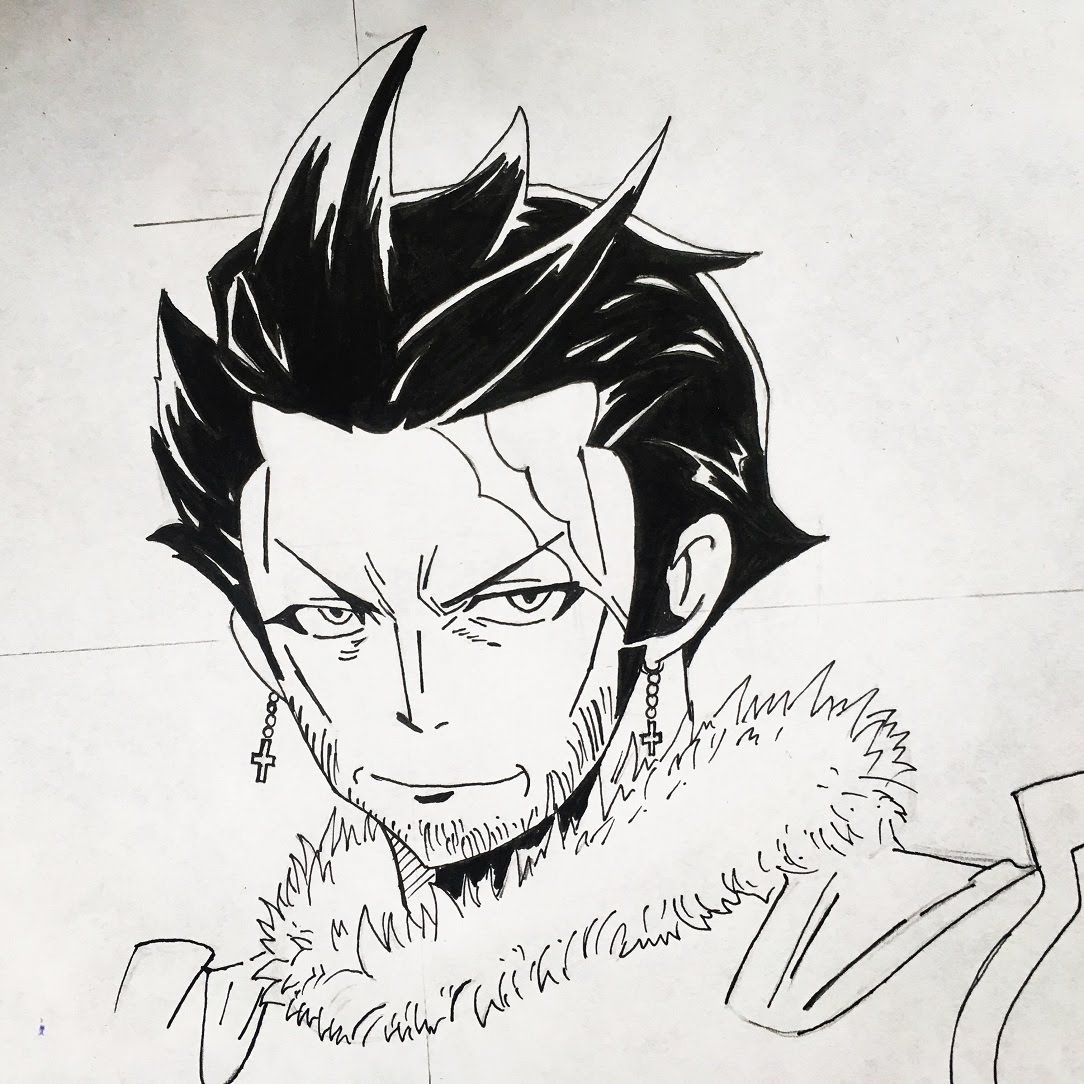 1084x1084 How To Draw Silver Fullbuster (Fairy Tail)