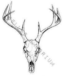 207x244 Whitetail Deer Tattoos Buck Whitetail Deer Tattoos