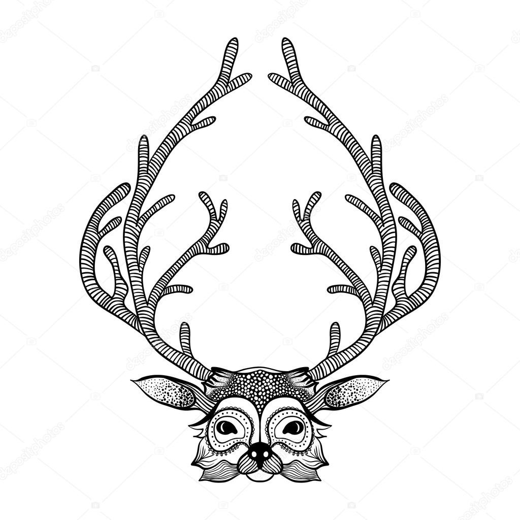 1024x1024 Whitetail Deer Silhouette Stock Vectors, Royalty Free Whitetail