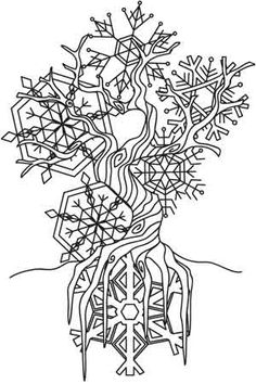 236x354 Wiccan Coloring Page Free Download