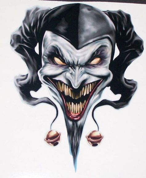 474x578 Evil Jester Tattoo Tattoo Templates Jester Tattoo