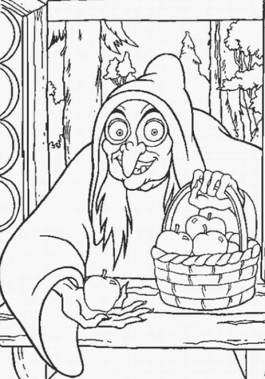 wicked witch coloring pages - photo#22