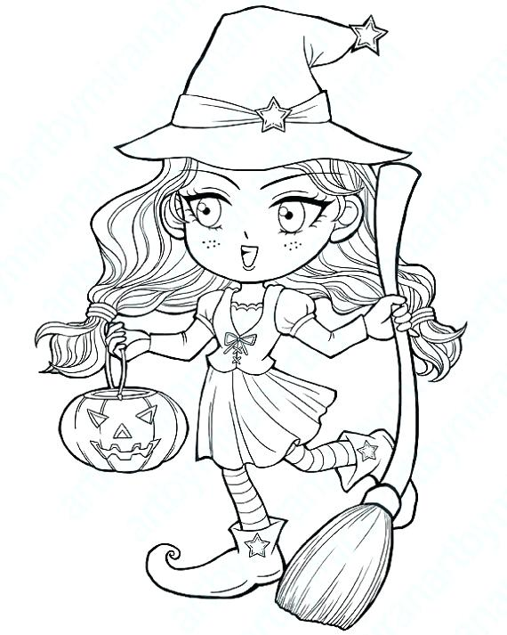 570x713 Here Are Witch Coloring Pages Images Witch Coloring Pages Wicked