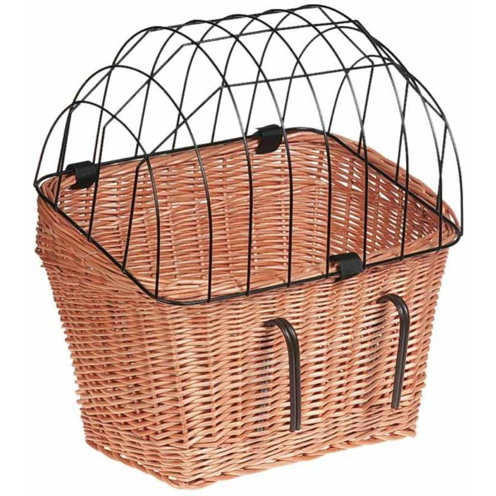 1024x1024 Flamingo 502658 Bicycle Basket With Grille 45 Cm Amazon.co.uk