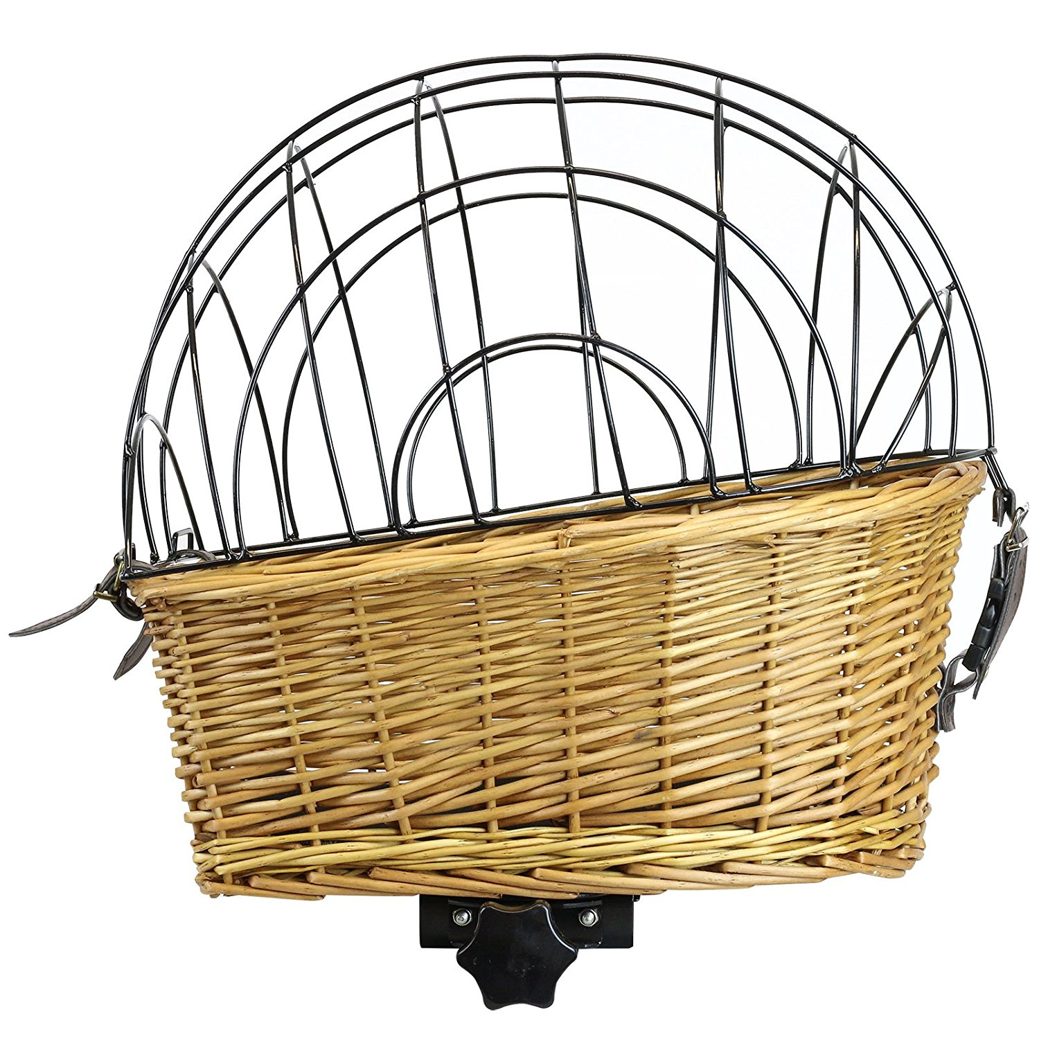 1500x1500 Pedalpro Bicycle Wicker Pet Cage For Rear Rack Amazon.co.uk Pet