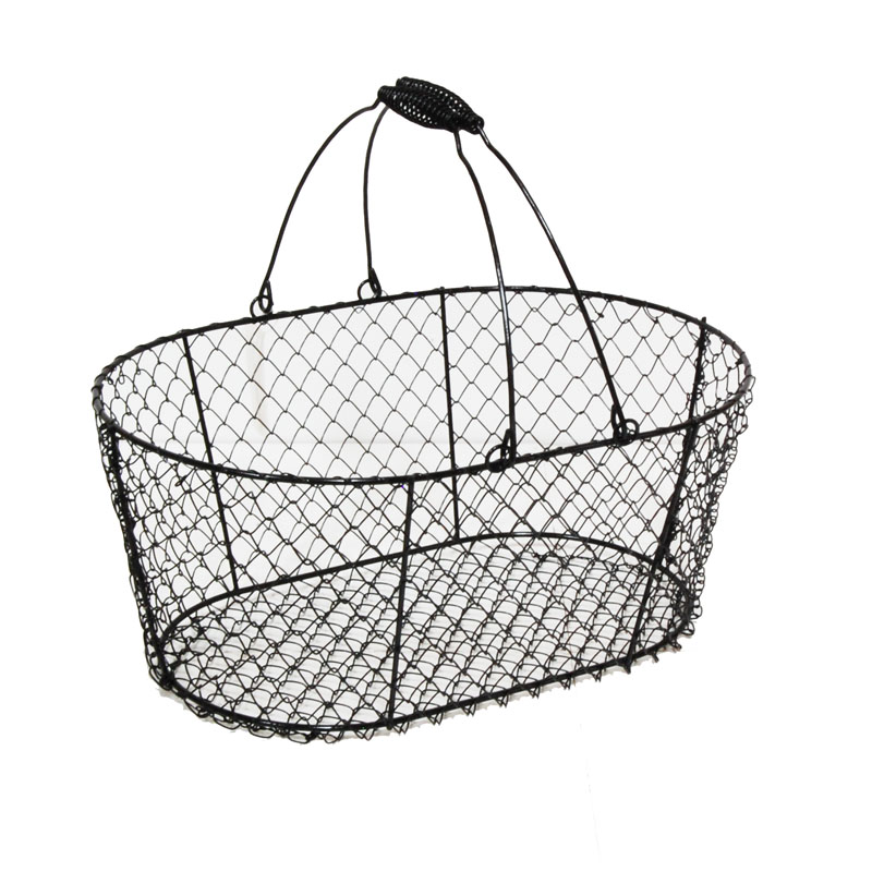 800x800 Stella Oblong Wire Basket With Swing Handle
