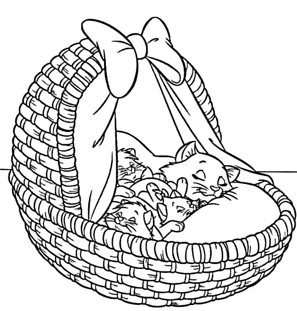 600x629 Aristocats Coloring Pages