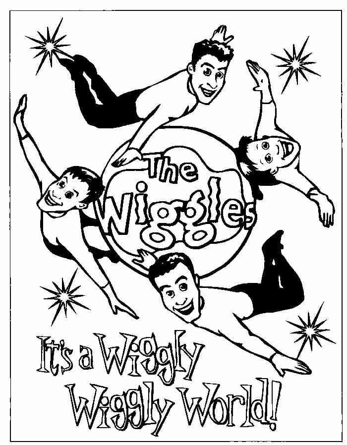Wiggles Drawing at GetDrawings.com | Free for personal use Wiggles ...