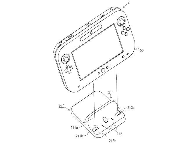640x505 Nintendo Patents Wii U Controller Dock