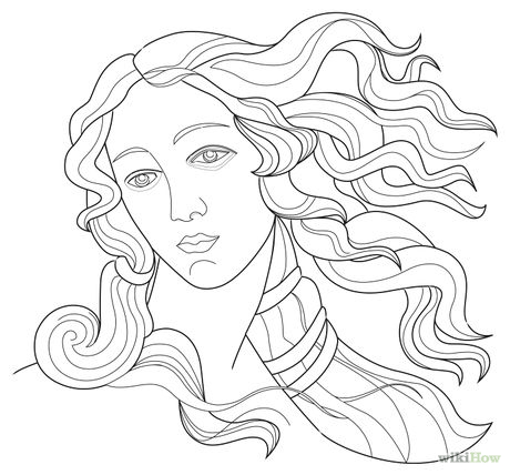 460x428 How To Draw Aphrodite 9 Steps (With Pictures)