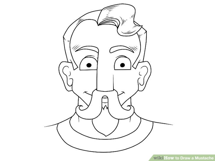 728x546 4 Ways To Draw A Mustache