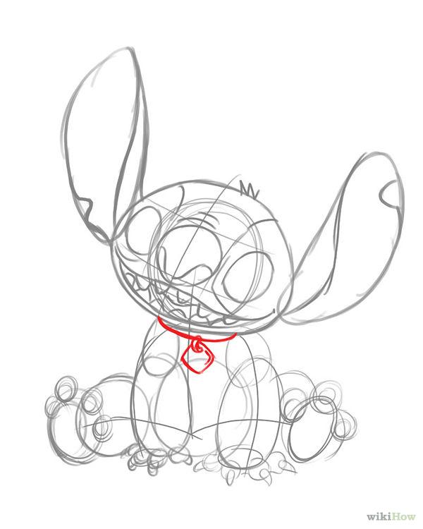 600x750 Draw Stitch From Lilo And Stitch