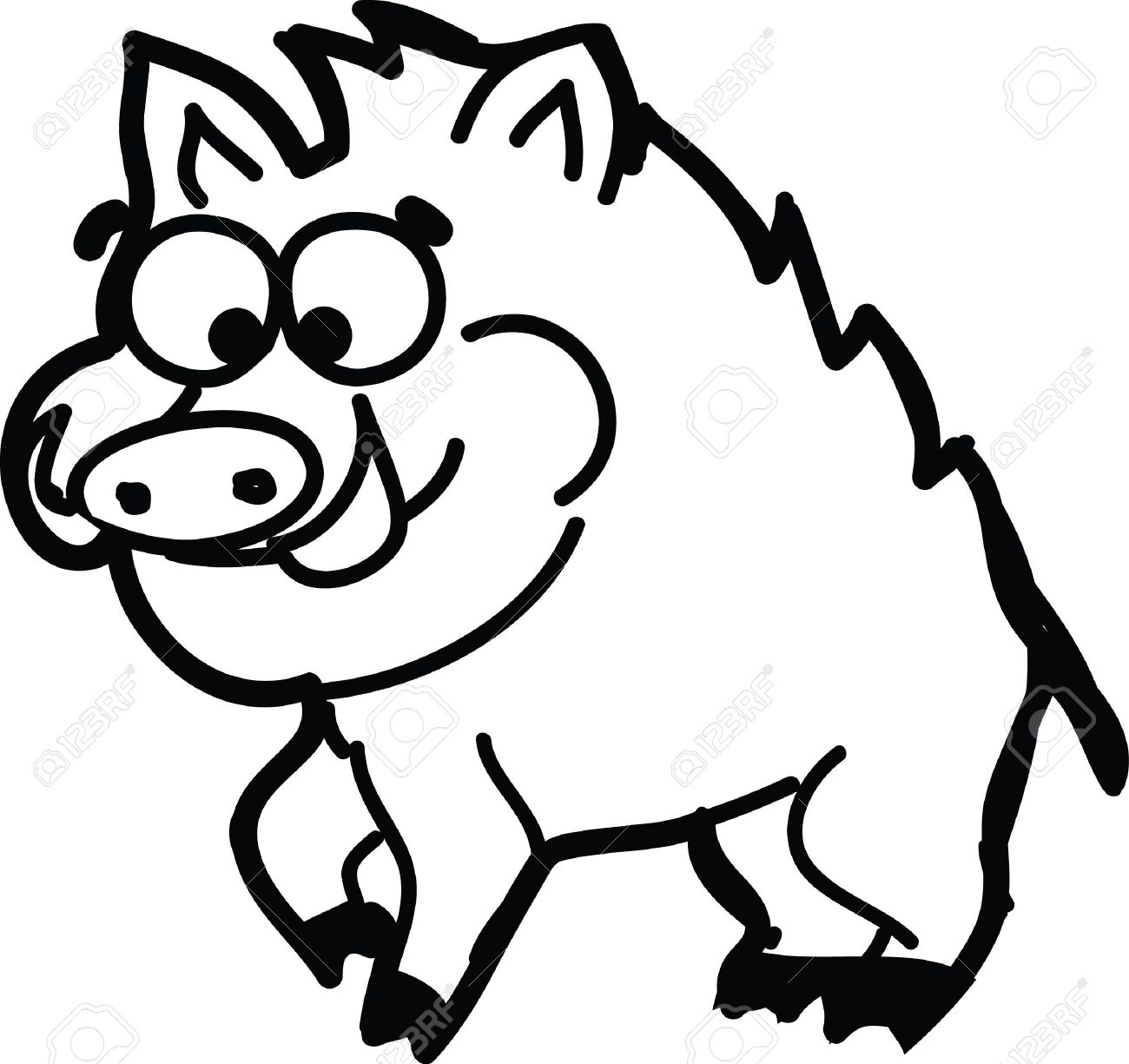 1300x1225 Drawn Boar Cartoonist