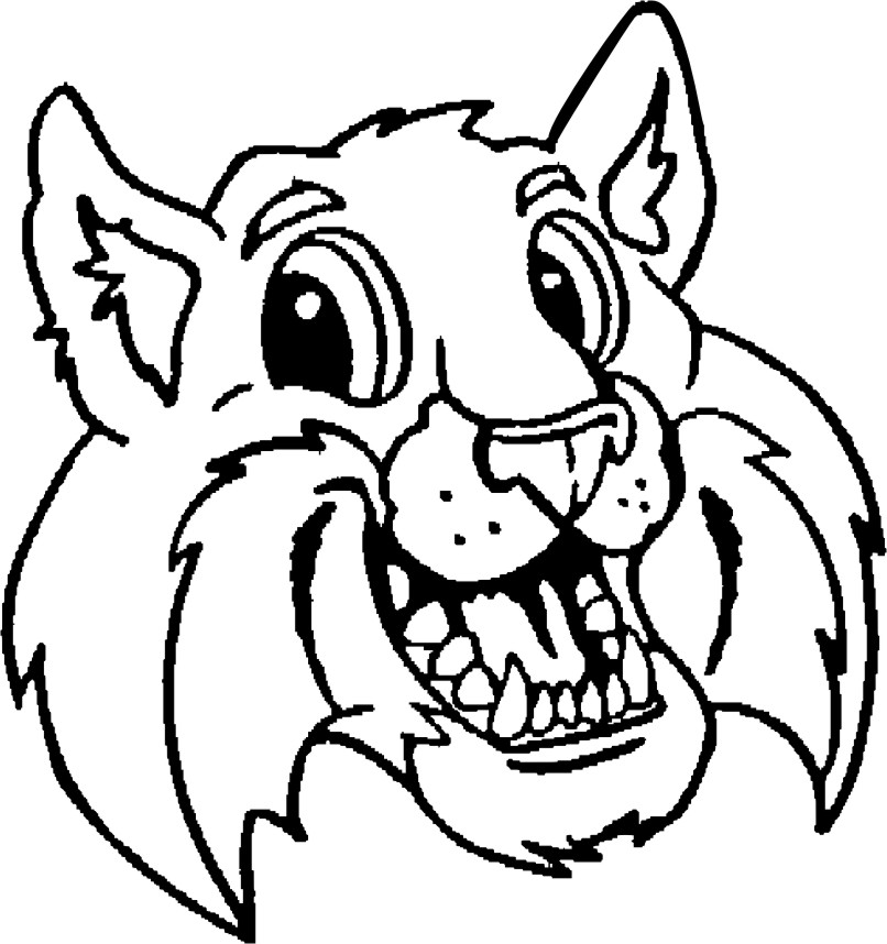 806x858 Quality Wild Cat Clipart 36 About Remodel Classroom Clipart