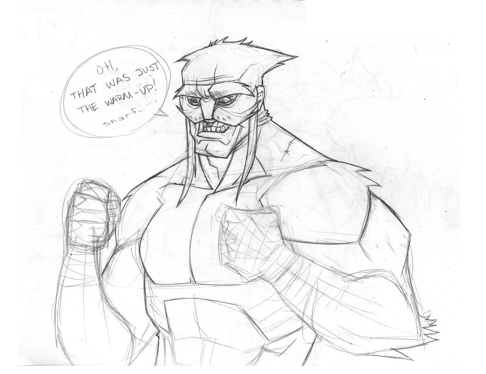 1600x1231 The Zig Zone Sketch Wildcat