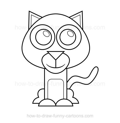 500x510 To Draw A Wildcat