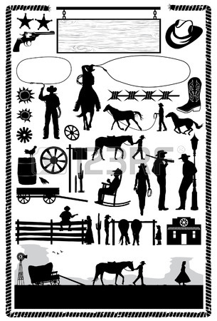 305x450 17,795 Wild West Stock Vector Illustration And Royalty Free Wild