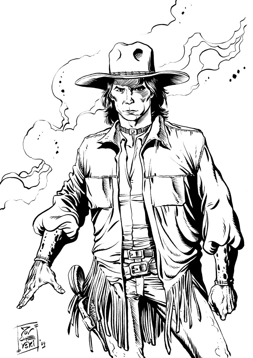 822x1162 Jovchevski's World Wild West Characters