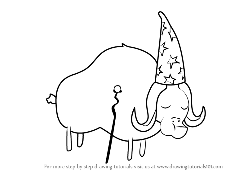 800x565 Learn How To Draw Great Plains Wildebeest From Bravest Warriors