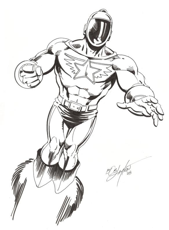 583x794 Wildfire By Bob Layton, In Edd Walker's Legion Of Super Heroes