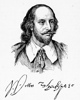 William Shakespeare Drawing