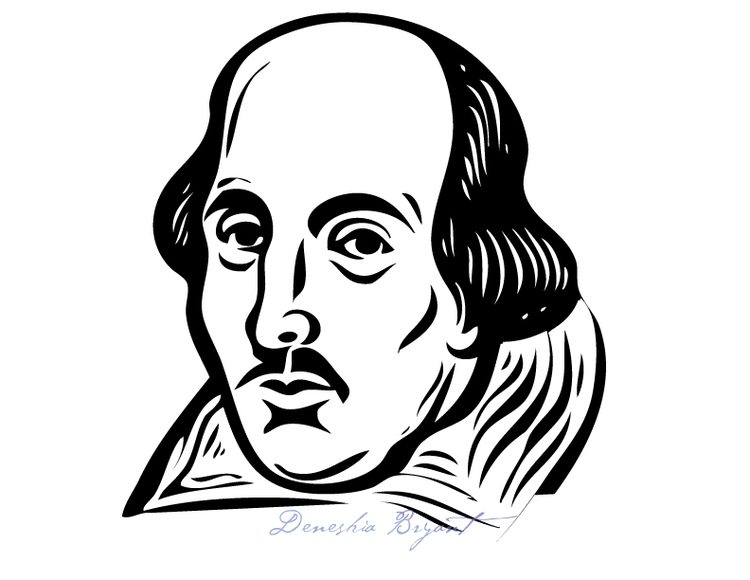Continuous Line Drawing Face : William shakespeare drawing at getdrawings free for personal