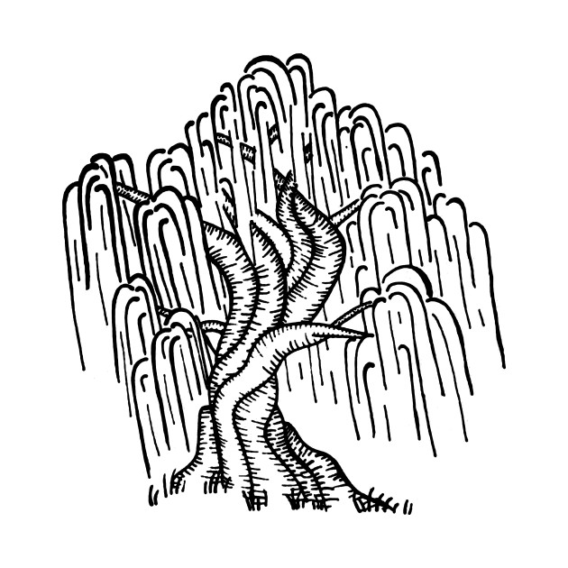 willow tree coloring pages - photo#28
