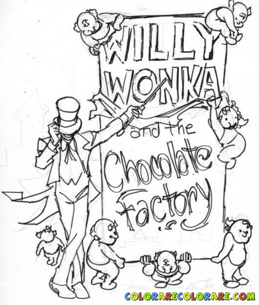 Willy Wonka Drawing at GetDrawings.com | Free for personal use Willy ...