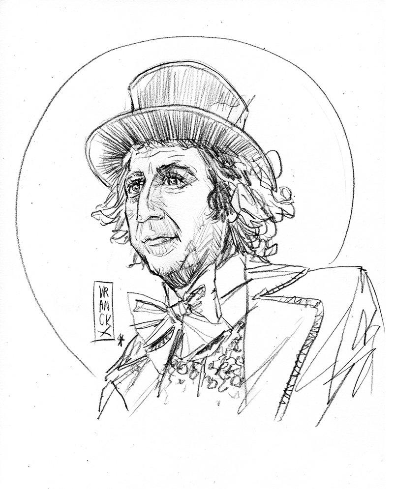 803x995 Gene Wilder As Willy Wonka By Vranckx