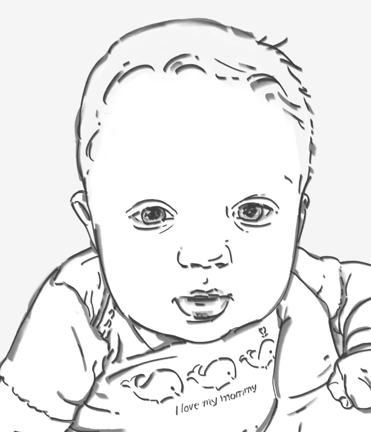 1200x1395 Win A Drawing Of Your Favorite Portrait A Drawing, Portrait