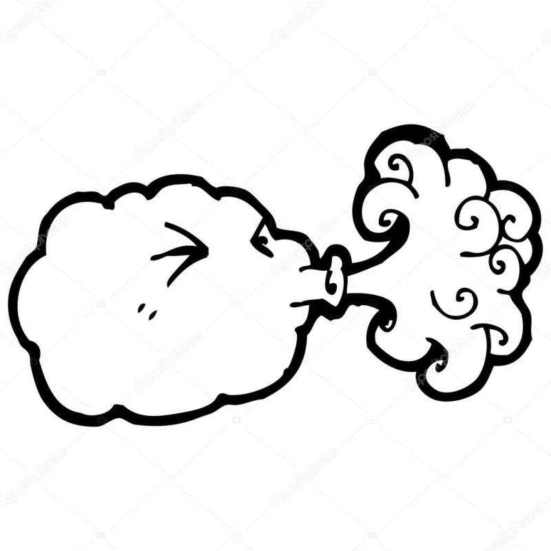 800x800 Cloud Blowing Wind Clip Art