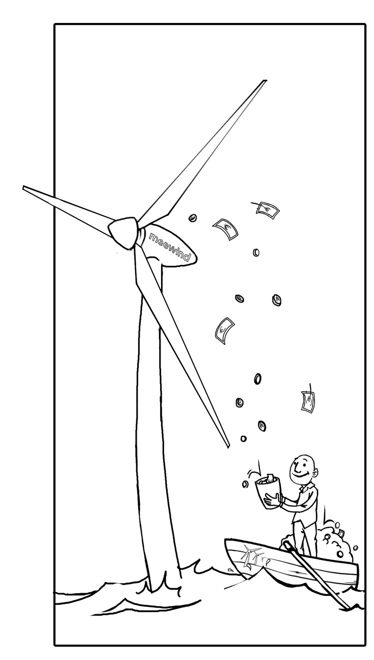 Wind Energy Drawing