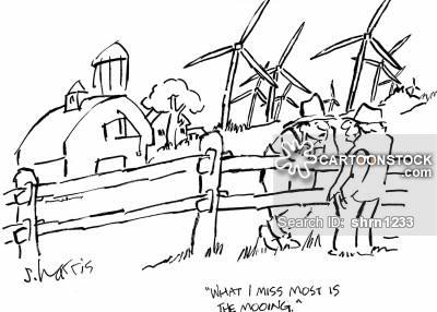 400x286 Wind Turbine Cartoons And Comics