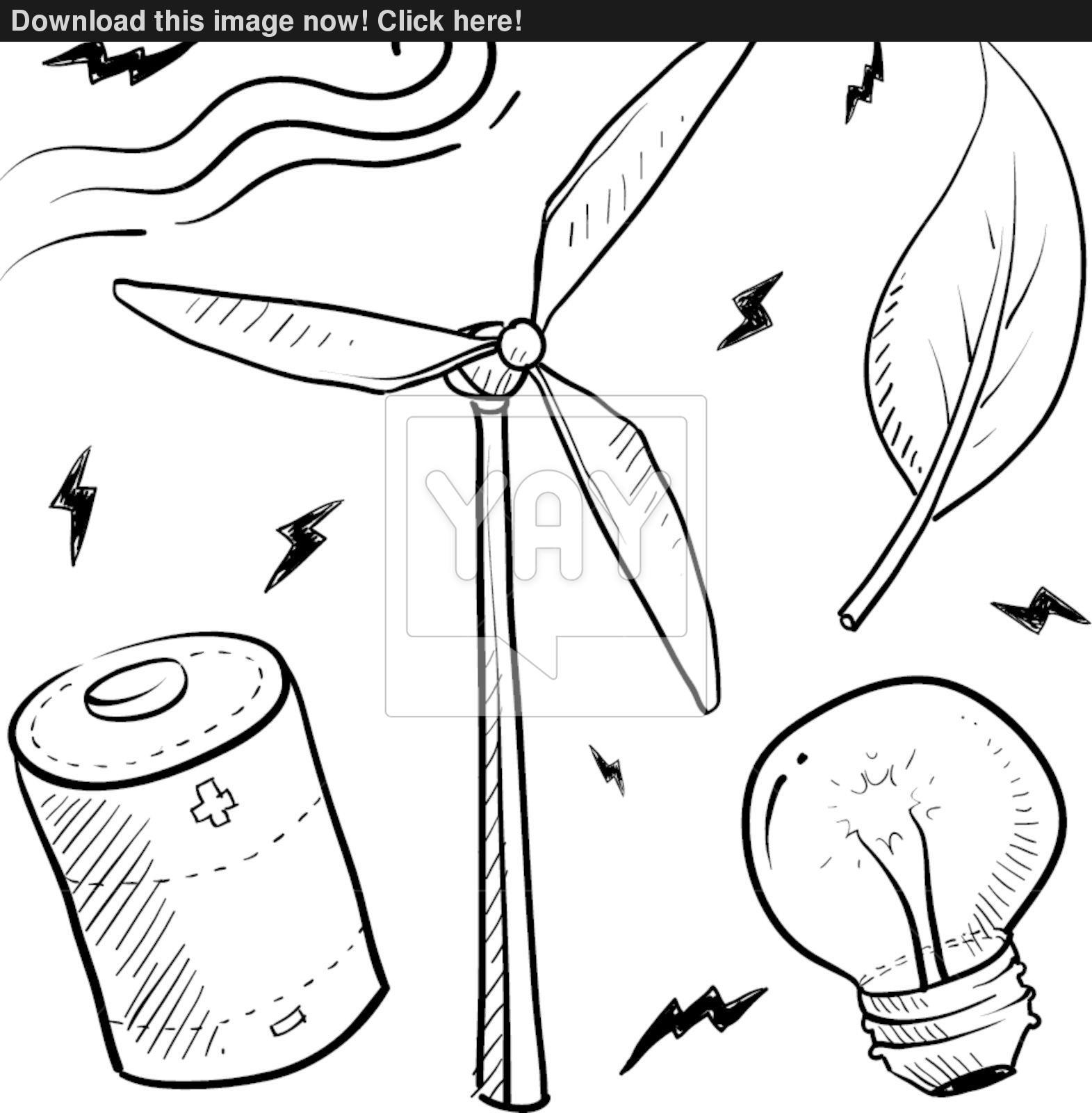 1571x1600 Wind Energy Objects Vector Set Vector
