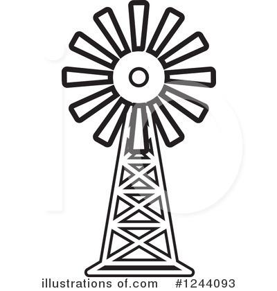 400x420 Windmill Clipart