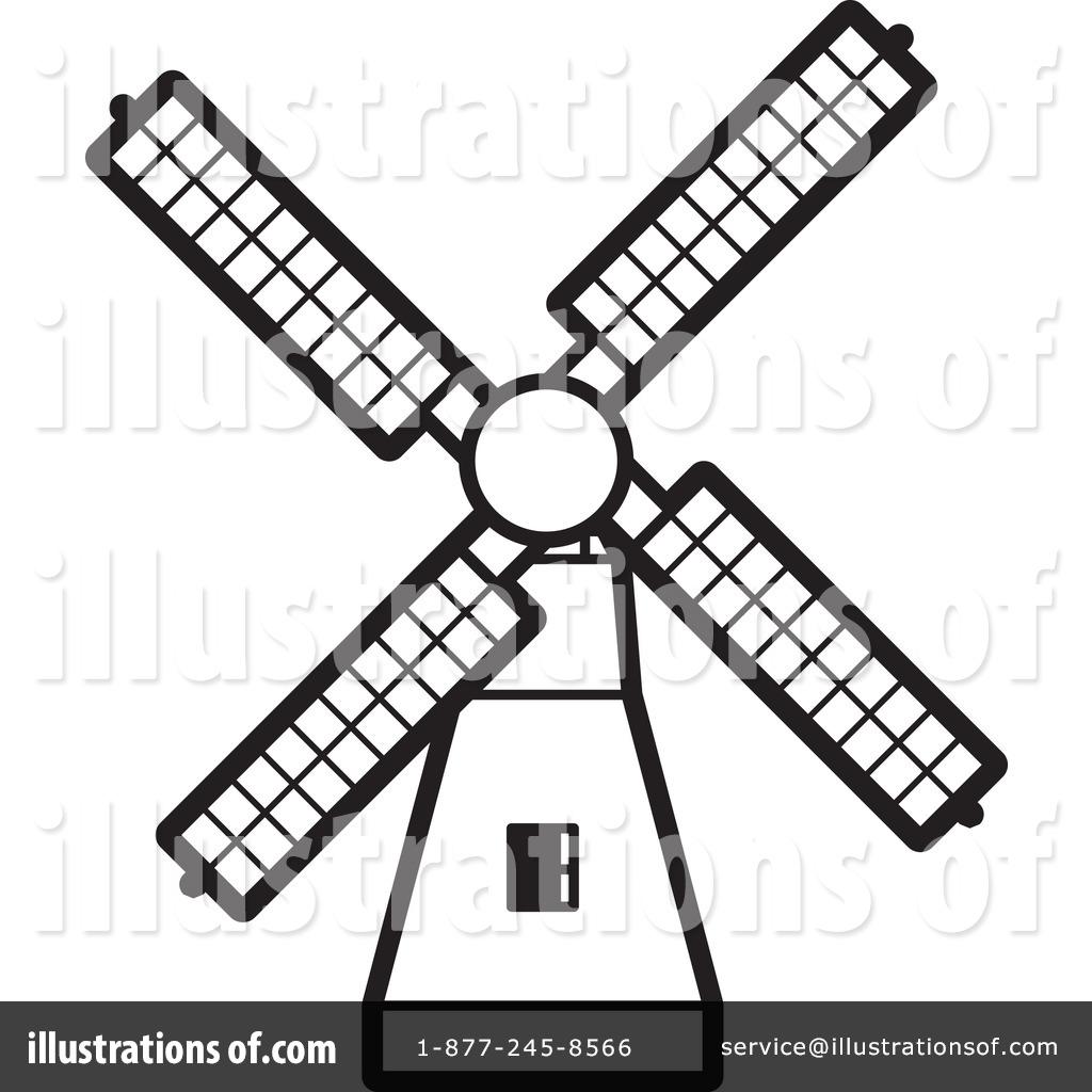 1024x1024 Windmill Clipart
