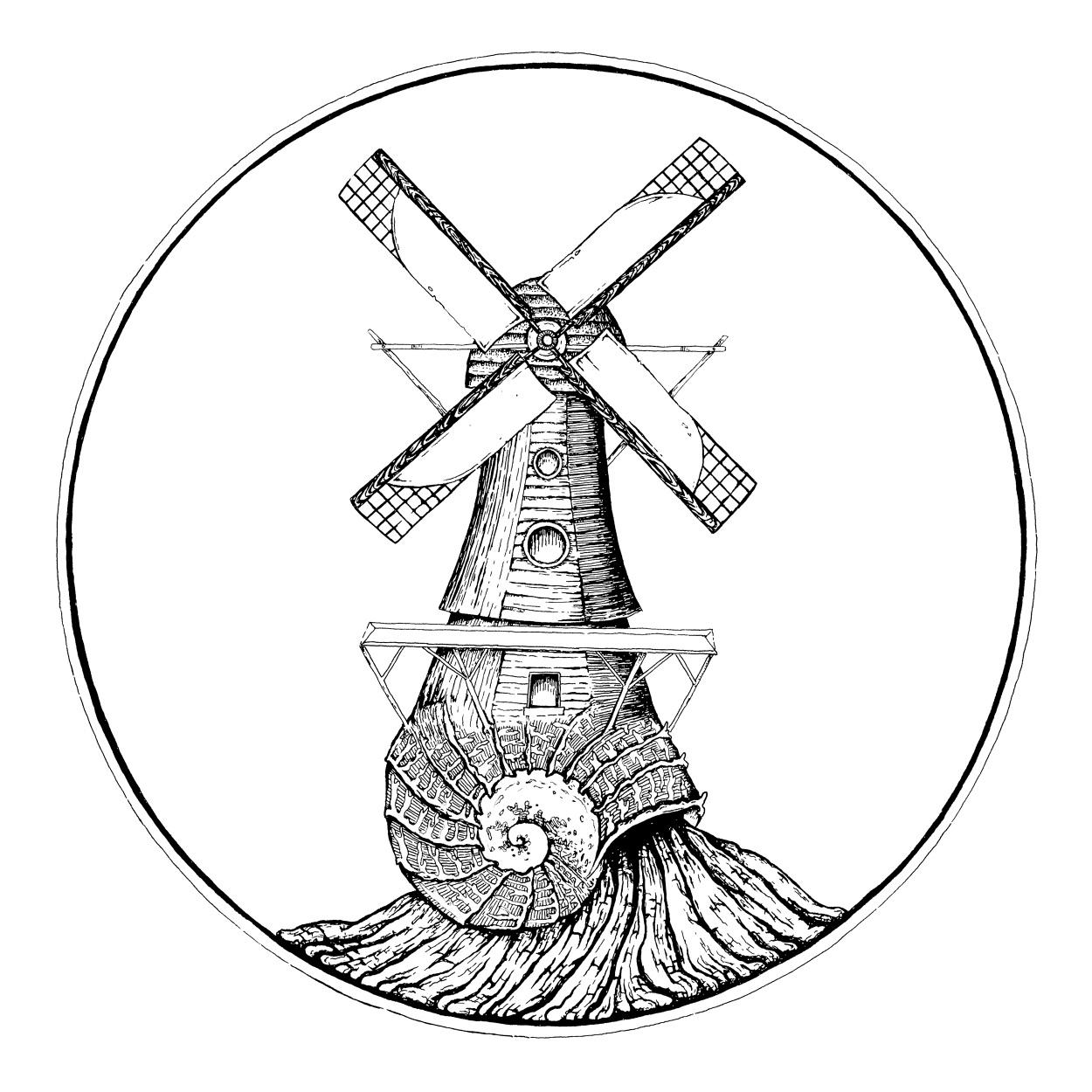1250x1250 Windmill Drawing