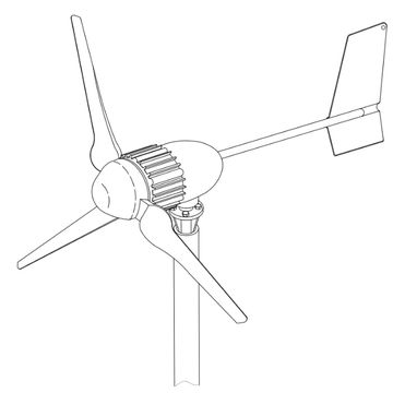 360x360 China Wind Power Generator For Rooftop On Global Sources