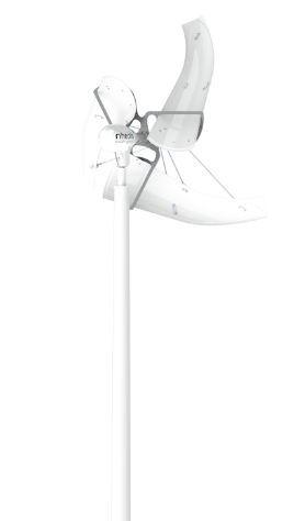268x474 Horizontal Axis Small Wind Turbine Three Bladed