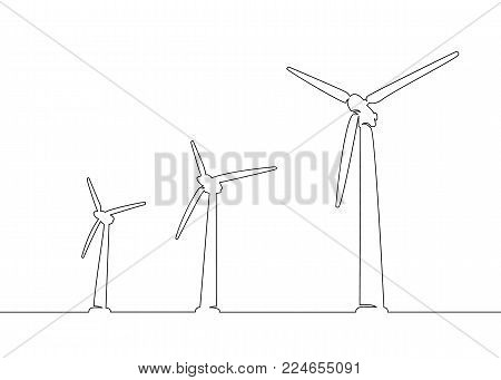 450x341 Continuous One Line Drawn Vector Amp Photo Bigstock