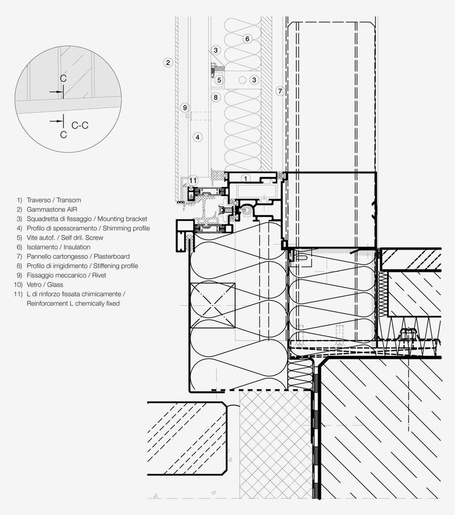 900x1019 Curtain Wall GammaStone Architectural amp Design Evolutions