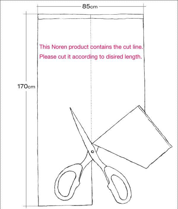 600x703 Japan Curtain Drapes Noren 150cm X 85cm Japanese Style Door Window
