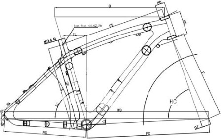 450x284 How To Read A Bike Frame Size Chart Bikeshq