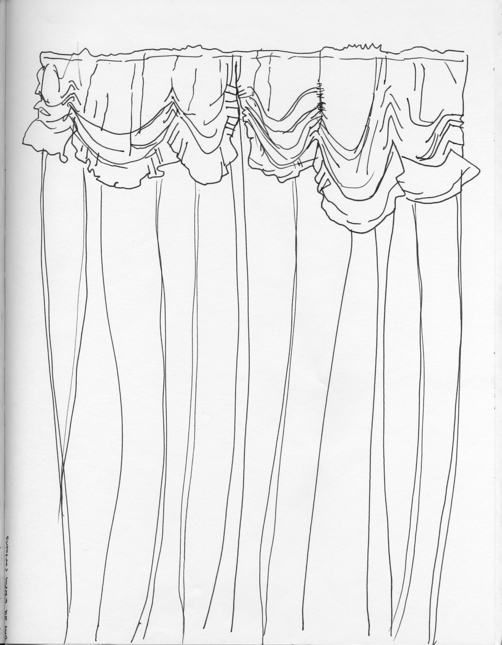 1697x2180 Curtains drawing ~ Decorate the house with beautiful curtains